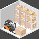 ispezione certificazione scaffalature magazzino